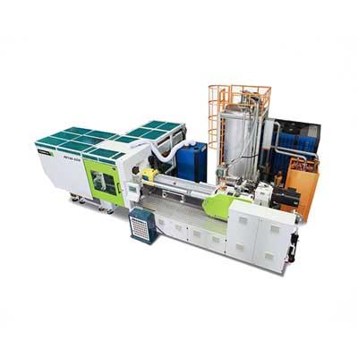 Sistema de moldeado por inyección preformado PET ECO de alta velocidad